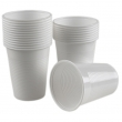 Pahare plastic alb, 200ml, 100 buc/set, Estetik Packing